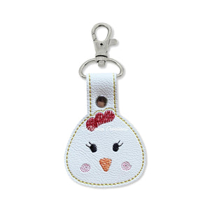 ITH Chick Key Fob 4x4