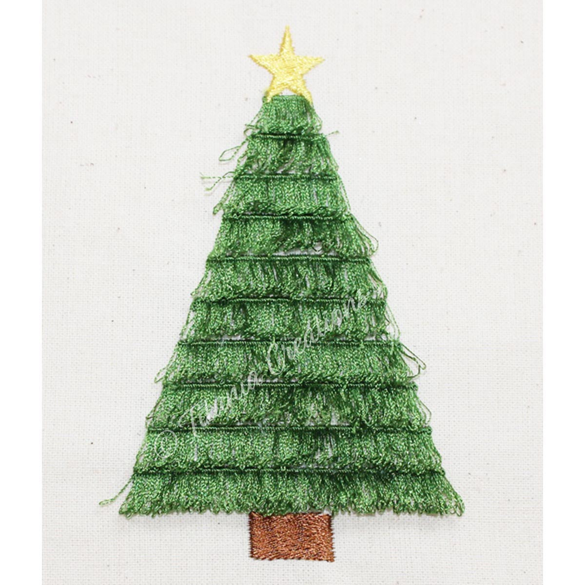 Fringe Christmas Tree 4x4