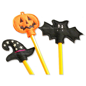 ITH Halloween Pencil Toppers 4x4 Set of 3