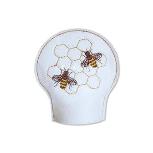 ITH Honey Bee Tea Light Cover 4x4