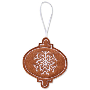 ITH Iced Gingerbread Bauble 4x4