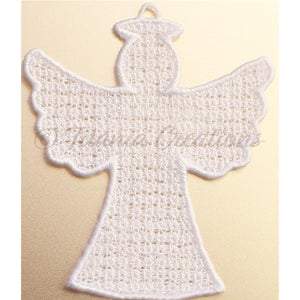 Free Standing Lace Guardian Angel 4x4