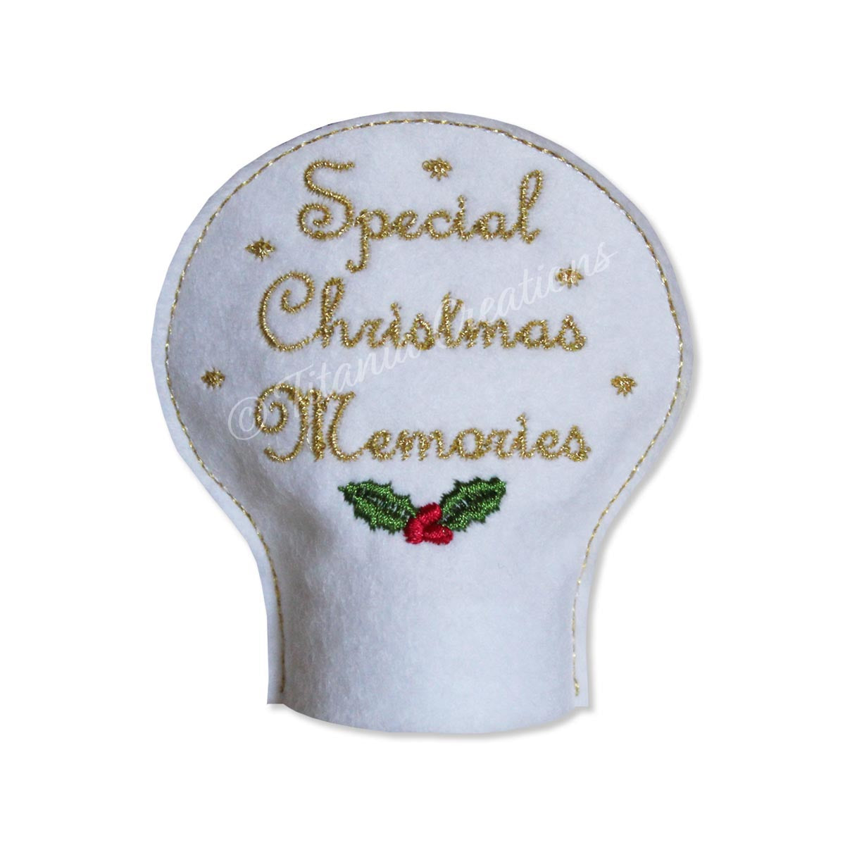 ITH Christmas Memories Tea Light Cover 4x4