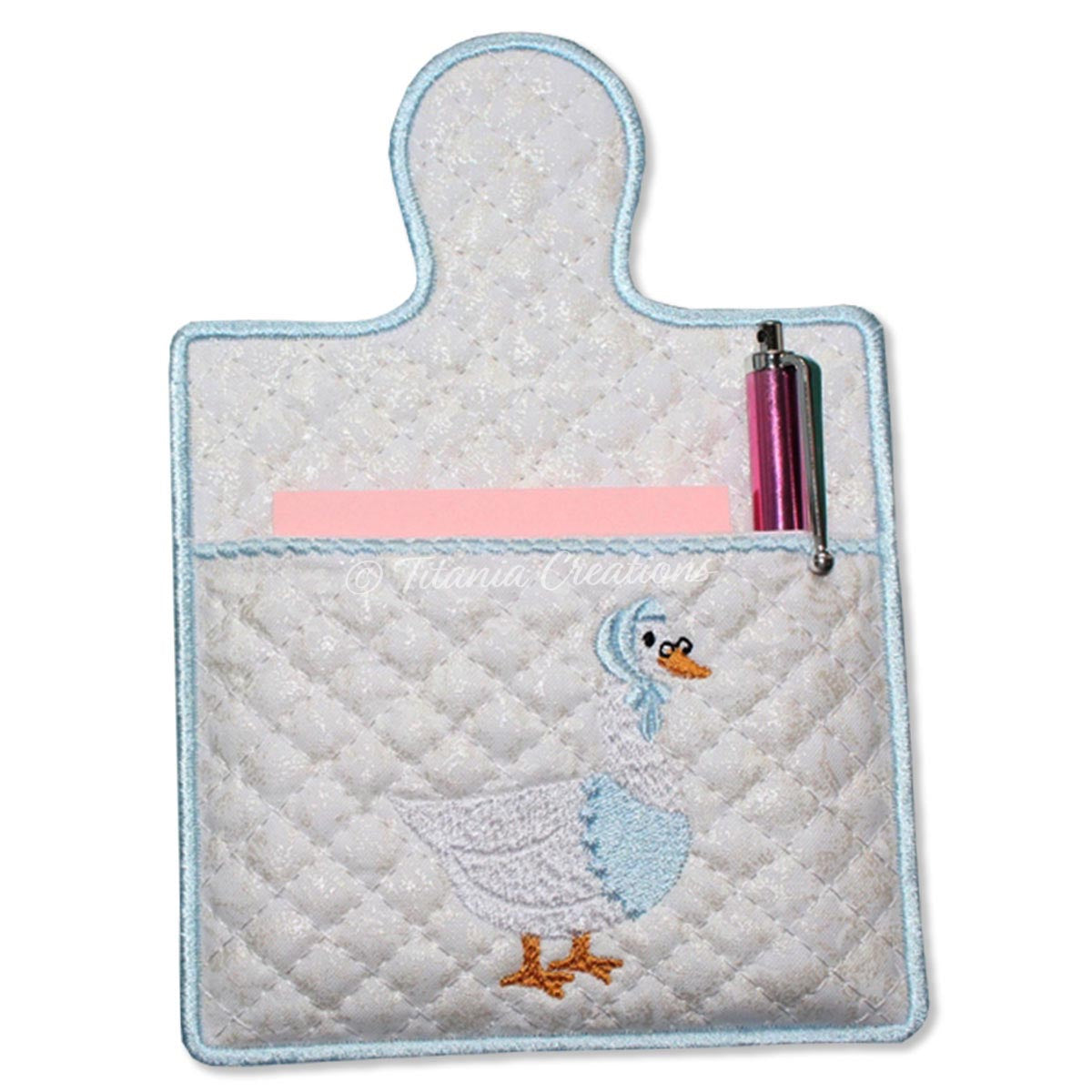 ITH Mrs Goose Note Pad Holder 5x7 6x10 7x11 8x12