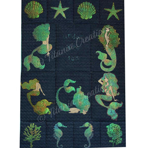 Under The Sea Mylar Design Set 5x7