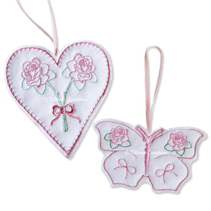 ITH Rose Heart and Butterfly Lavender Bags 4x4