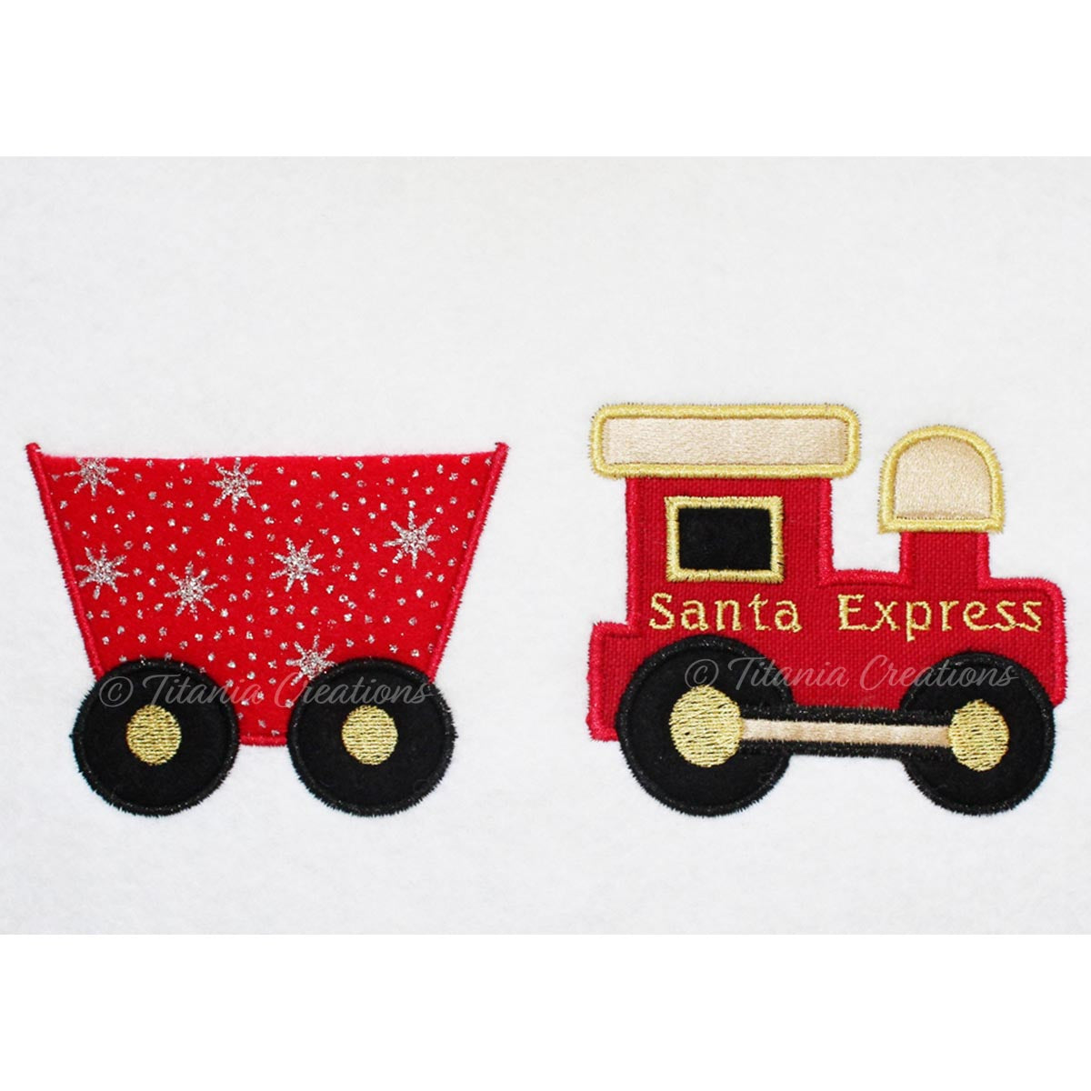 Applique Santa Express 4x4