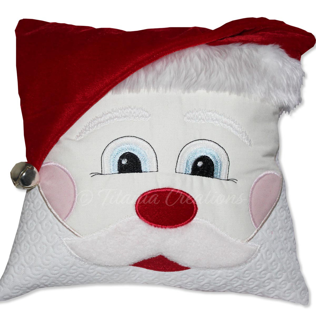 Santa Pillow Project 8x12
