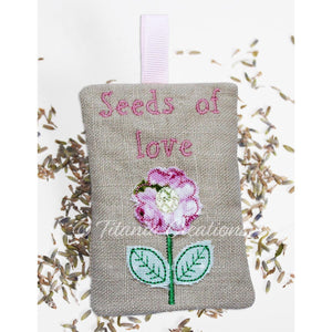 ITH Seeds Of Love Lavender Sachet 4x4