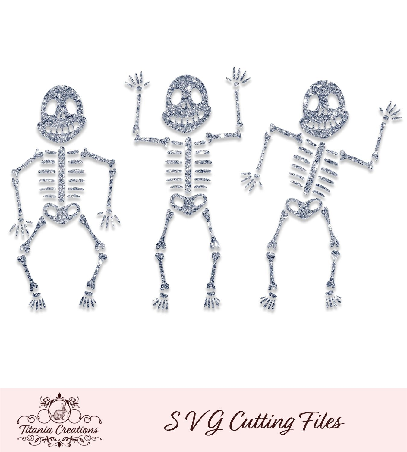 Three Skeletons Svg Vinyl