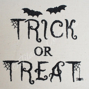 Trick or Treat 4x4 5x7
