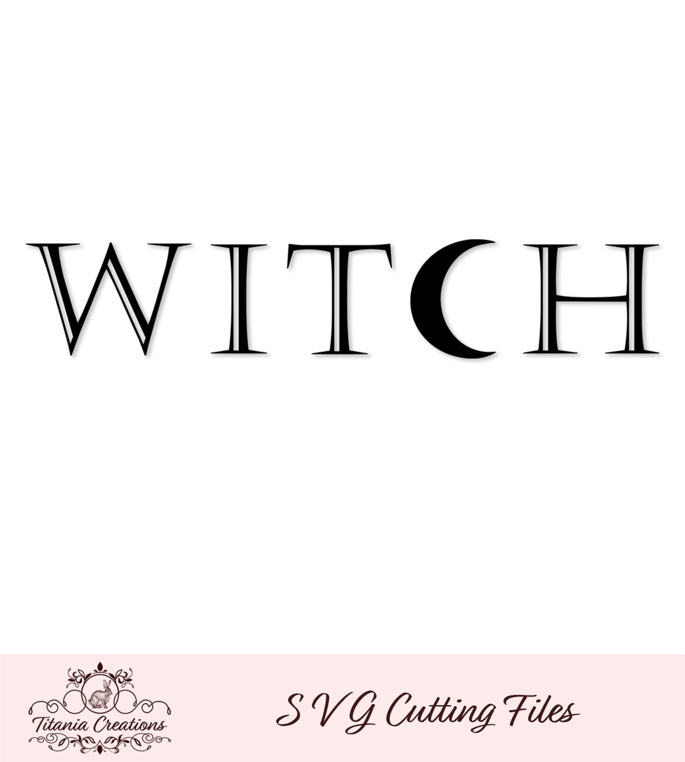 Witch Svg Vinyl