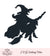 Witch On A Broom Svg Vinyl
