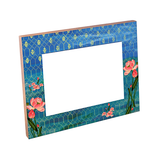 Lotus Waterbed Lacquer Finish Photo Frame