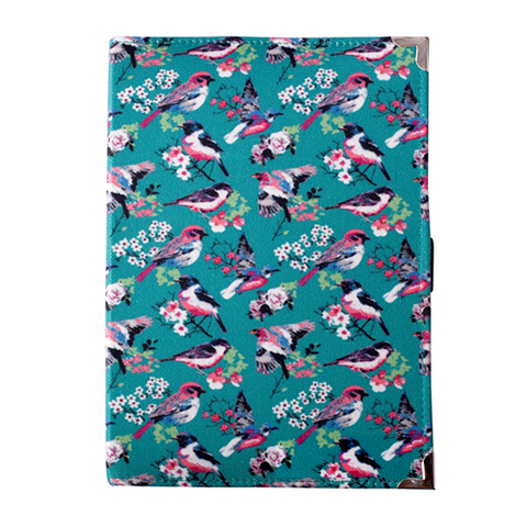 Vintage Birds Reusable Diary Cover