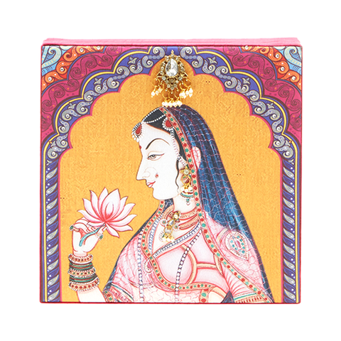 Mughal Rani Earrings/ Bracelet Gifting Box