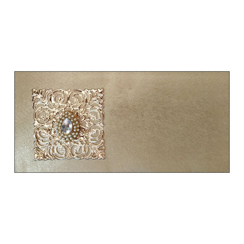 Leather Finish Envelope