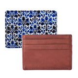 Blue Ikat Currency/Card Holder