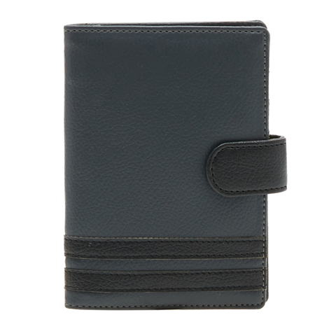 Colour Block Passport Cover - Men