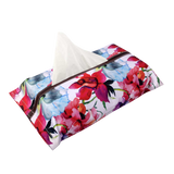 Red Watercolour Tissue Box Cover