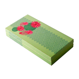 Lotus Bunch Lacquer Finish Cash Box