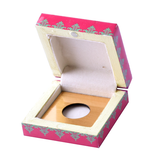 Queen Lacquer Finish Coin Gifting Box - Small