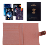 Laser Cut Style Passport Cover - Men