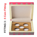Queen Lacquer Finish Coin Gifting Box - Big