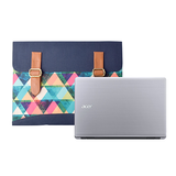 Multi Colour Triangle Document Folder