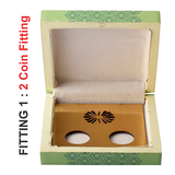 Lotus Bunch Lacquer Finish Coin Gifting Box - Big