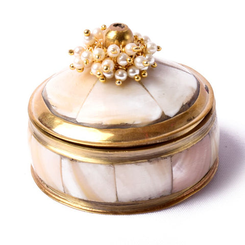 Mother of Pearl Coin Box