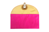 Heavy Jadau Broach Fabric Envelope