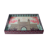 Gateway Carriage Lacquer Finish Tray - Big