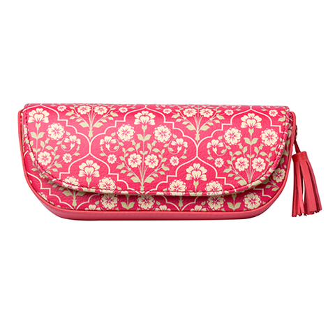 Kashmir Flower Printed Sunglass Case