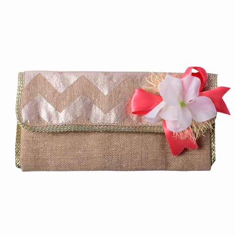 Jute Fabric Envelope
