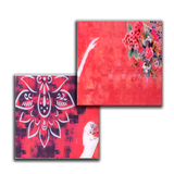 Ballet Dancer Lacquer Finish Coaster Set