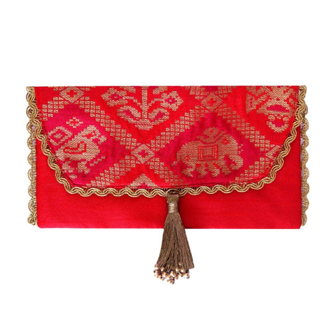 Patola Brocade Envelope
