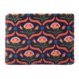 Black Flower Currency/Card Holder