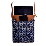 Blue Ikat IPad Sling