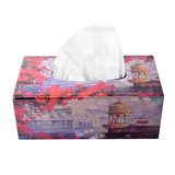 Bougainvillea Lacquer Finish Tissue Holder
