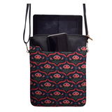Black Flower IPad Sling