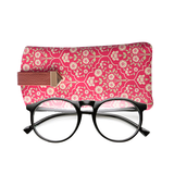 Kashmir Flower Flat Sunglass Cover