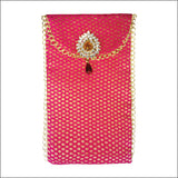 Brocade Fabric Envelope - Vertical