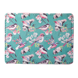 Vintage Birds Currency/Card Holder