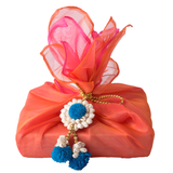 Mogra and pompom wraps Set of 2