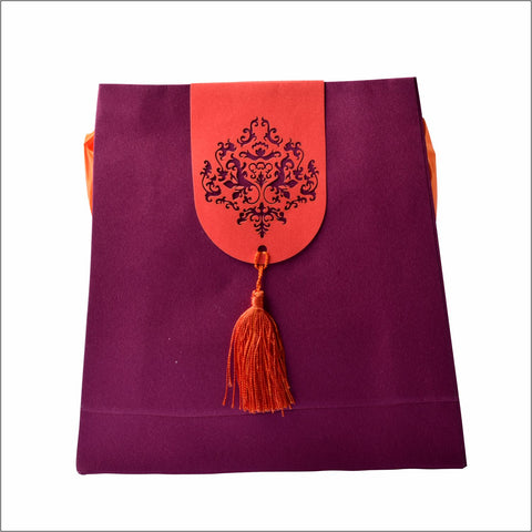 Turkish Motif Laser Cut Paper Bag Set - Big and Small MATTER