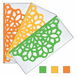 Flower Laser Flap Envelope - Set of 3
