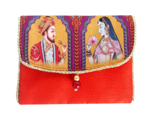 Mughal Couple Coin Gifting Case