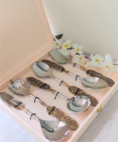 6 Pcs Cutlery Set