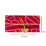 Bandhani Fabric Envelope